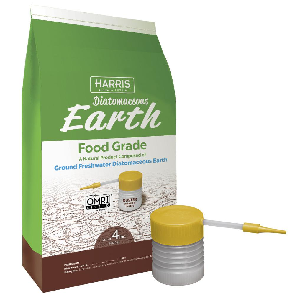 Harris 64 oz 4 lb diatomaceous earth food grade 100 - How to use diatomaceous earth in the garden ...