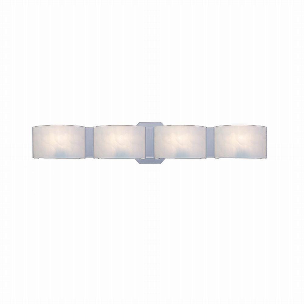 Bath Bar Lights Hampton bay dakota 4 light satin nickel vanity light with frosted hampton bay dakota 4 light satin nickel vanity light with frosted glass shades audiocablefo