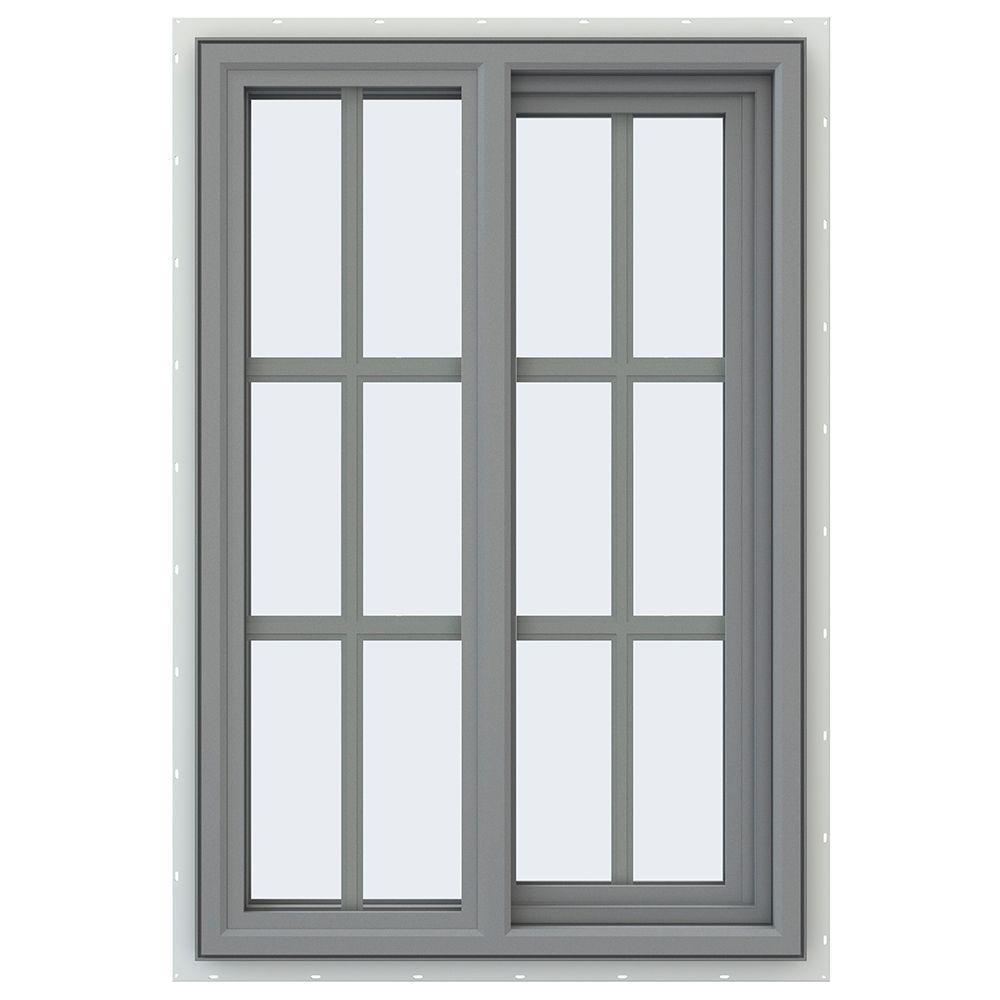 23.5 in. x 35.5 in. V-4500 Series Right-Hand Sliding Vinyl Window