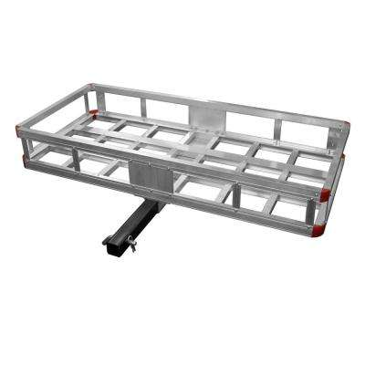 500 lb. Capacity 40 in. Aluminum Hitch Cargo Carrier
