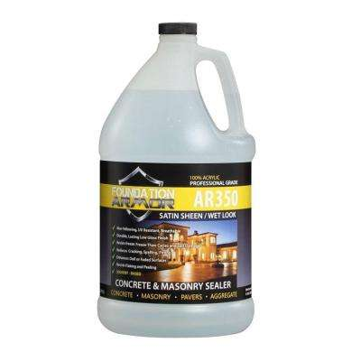 1 gal. Solvent Based Acrylic Wet Look Concrete Sealer and Paver Sealer