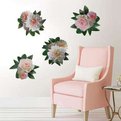 Pink Moonlight Garden Decal