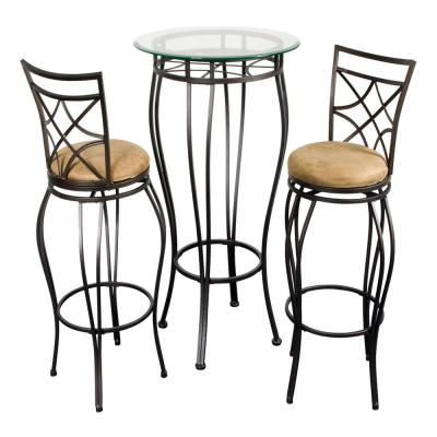The Home Source Web Bronze Bistro Set