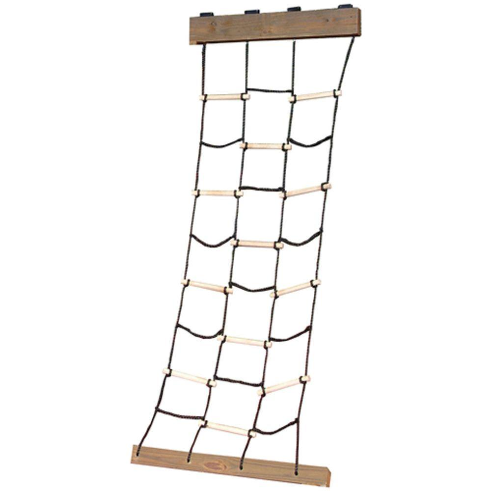 swing n slide playsets cargo climbing net ws 4481 the home depot