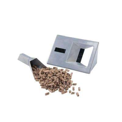 Stainless Gas Grill V-Smoker Box with Pellet Tube