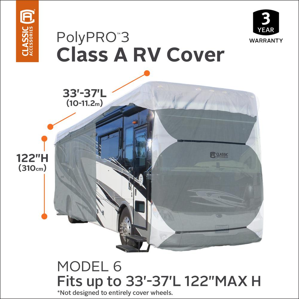 30-33 Classic Accessories C1H163181001 PolyPRO 1 Class A Cover
