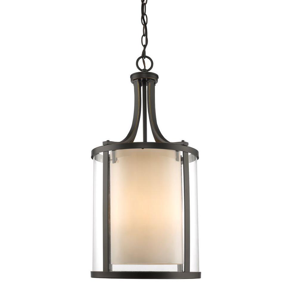Filament Design Christen 4-Light Olde Bronze Pendant