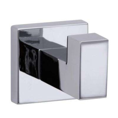 Electra Single Robe Hook in Polished Chrome