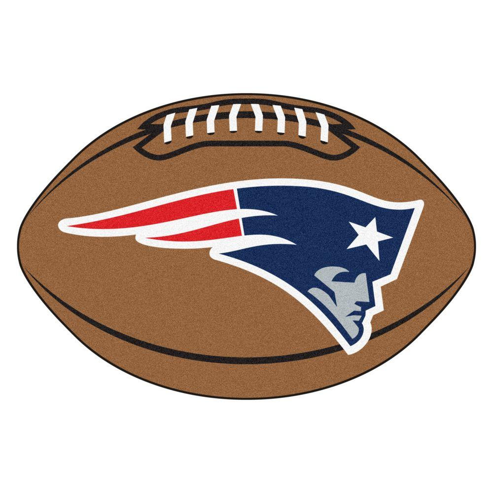 FANMATS NFL New England Patriots Brown 2 Ft. X 3 Ft