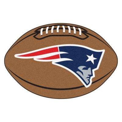 NFL New England Patriots Brown 2 ft. x 3 ft. Specialty Area Rug
