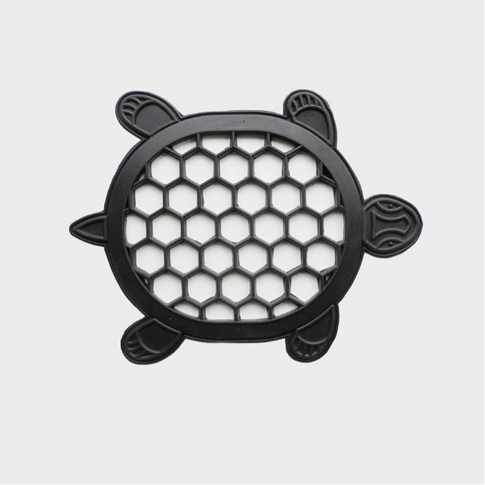 13 in. x 17 in. Rubber Turtle Door Mat