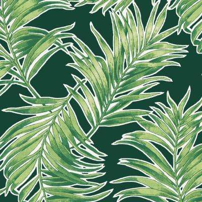 Emerald Quintana Tropical Outdoor Fabric by The Yard