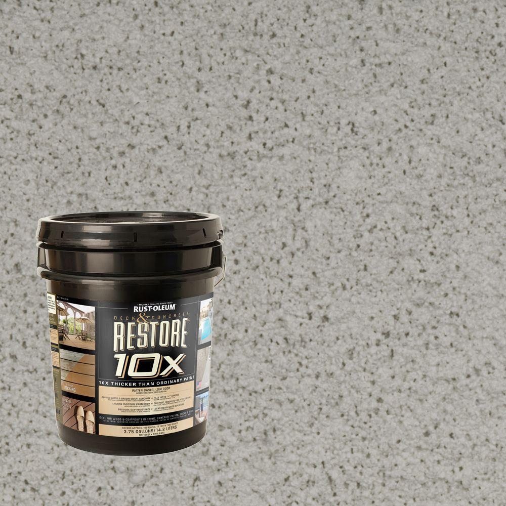 Rust-Oleum Restore 4-gal. Graywash Deck and Concrete 10X Resurfacer