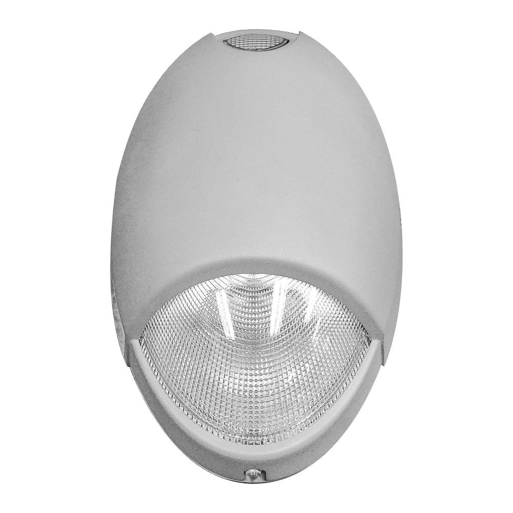 Dyconn Always-On 120-277-Volt Integrated LED Nickel Light ...