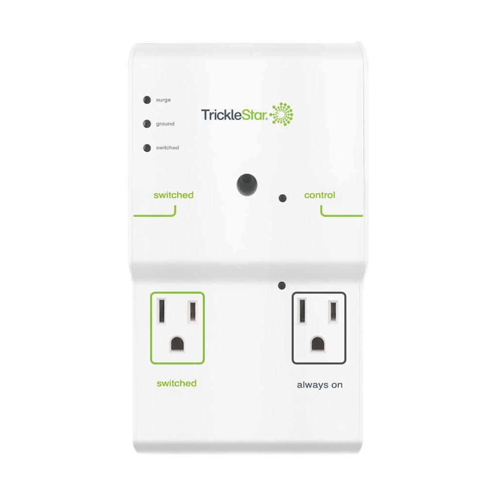tricklestar 4 outlet advanced and energy saving surge protector rh homedepot com