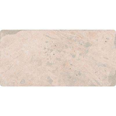 Tuscany Classic 3 in. x 6 in. Tumbled Travertine Floor and Wall Tile (1 sq. ft. / case)