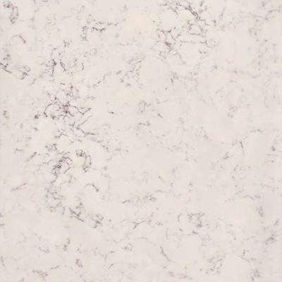 4 in. x 4 in. Stone Effect Vanity Top Sample in Pulsar
