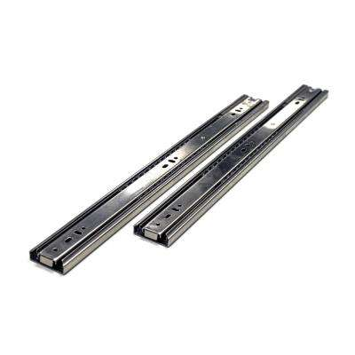 20 in. Side Mount Soft Close Full Extension Ball Bearing Drawer Slide with Installation Screws (1-Pair)