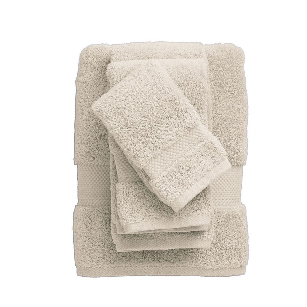 Legends Sterling Sand Solid Supima Cotton Bath Sheet