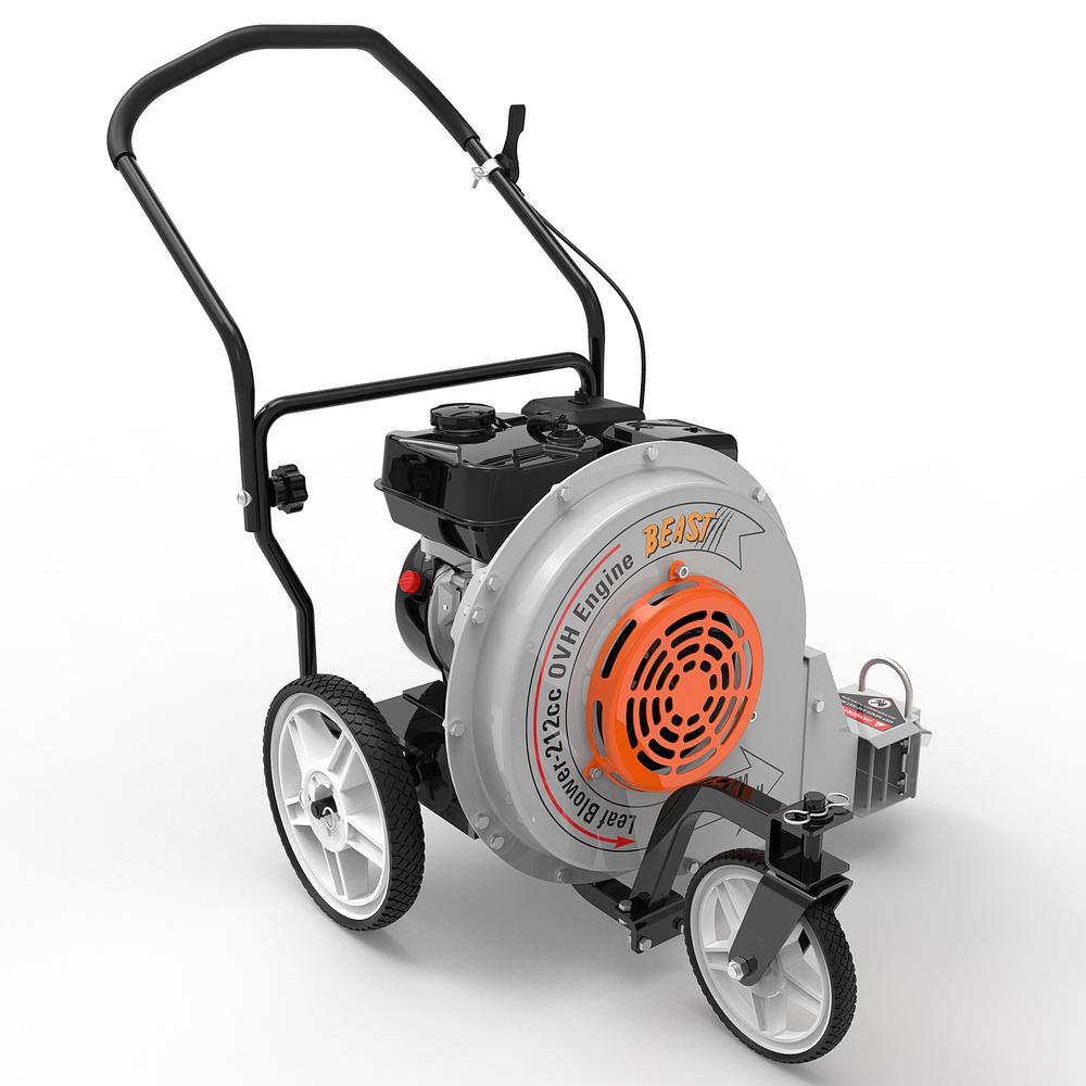 Beast 212-cc 4-Cycle 155-MPH 1250-CFM Walk-Behind Gas Leaf Blower in Gray | LB1M19