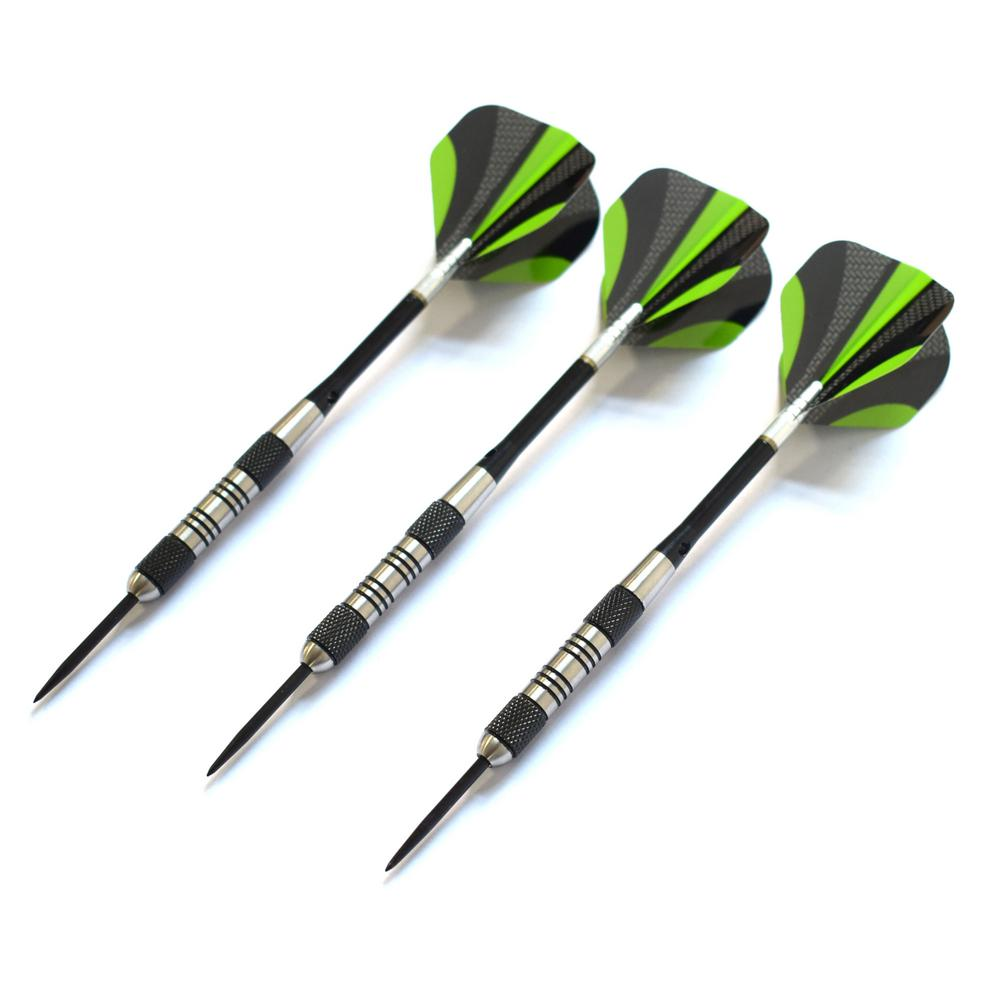 Dublin Steel Tip Darts Set - Includes 3 Darts with Aluminum