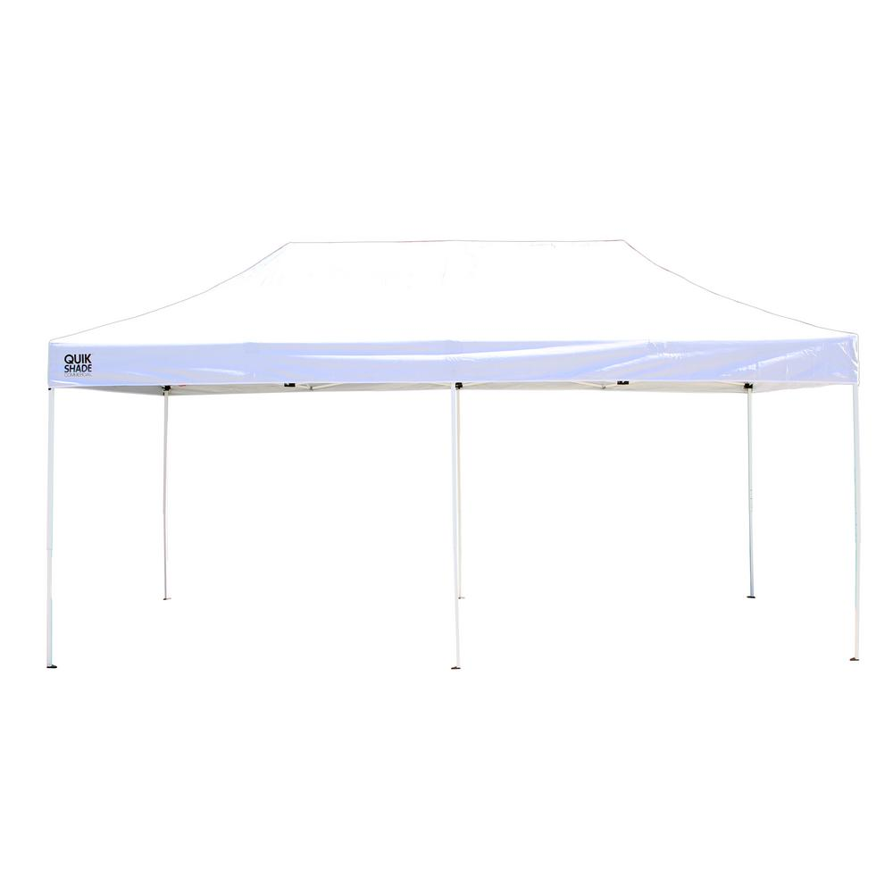 Commercial C200 10 ft. x 20 ft. White Straight Leg Pop-Up Instant  sc 1 st  The Home Depot & Quik Shade - Pop-Up Tents - Tailgating - The Home Depot