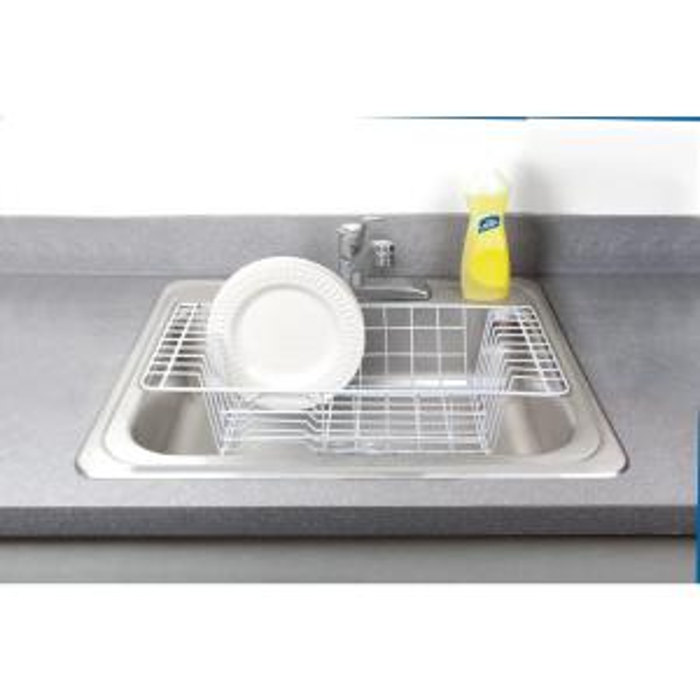 Internet 304139803 Kitchen Details Over The Sink White Dish Rack