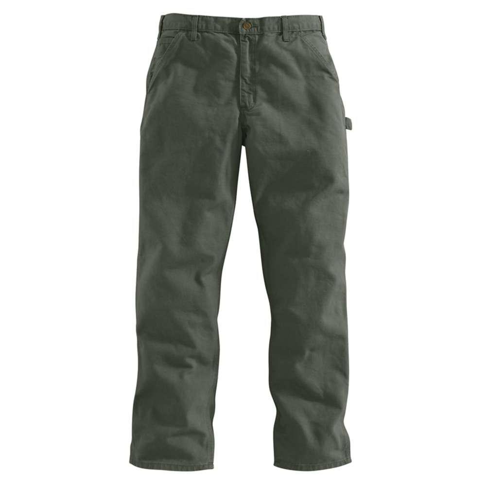 Men's 34x30 Moss Cotton Straight Leg Non-Denim Bottoms