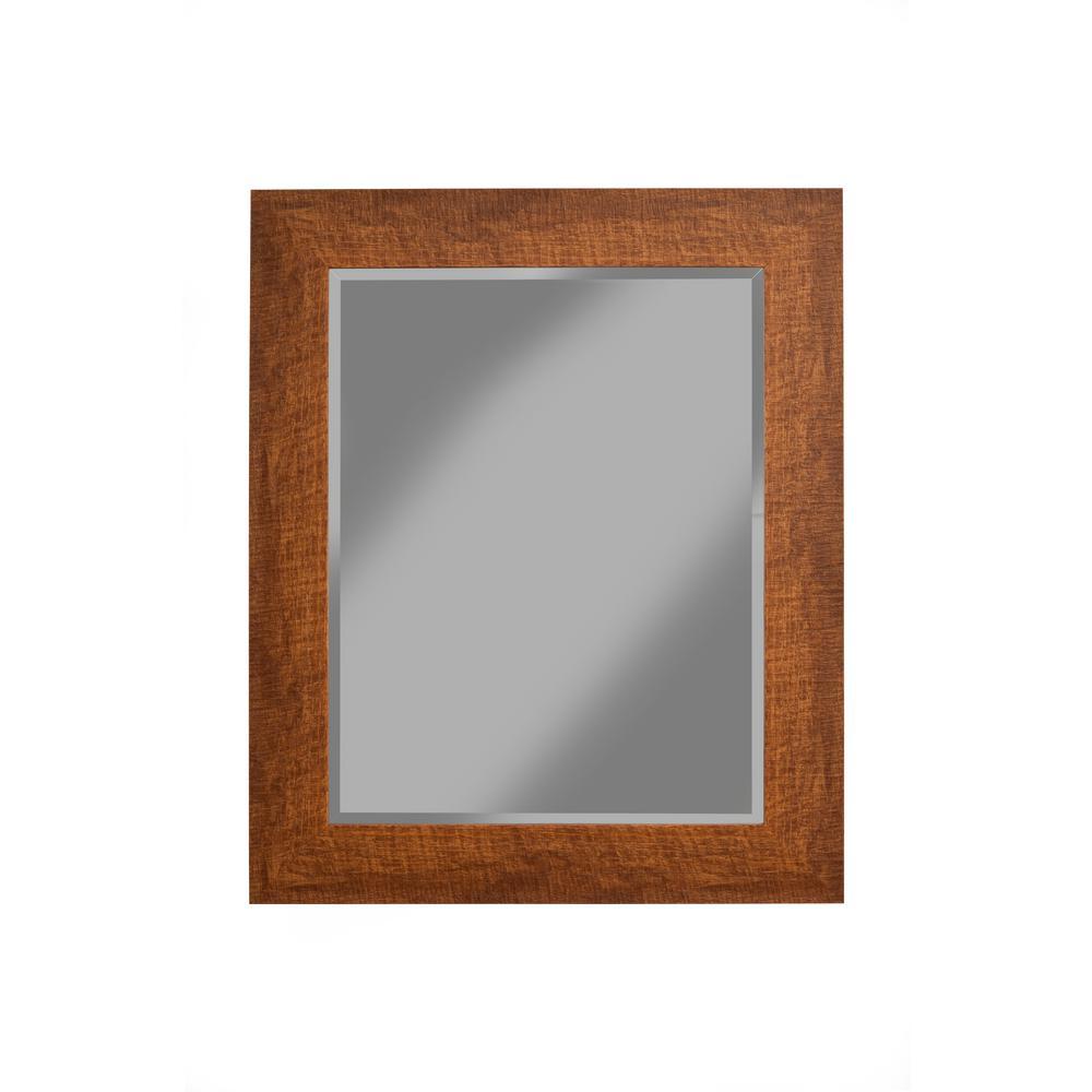 Rustic Honey Tobacco Wall Mirror