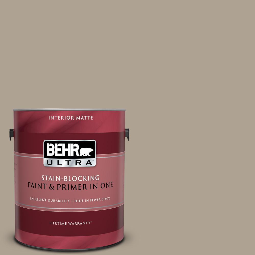 Behr Ultra 1 Gal 730d 4 Garden Wall Matte Interior Paint And