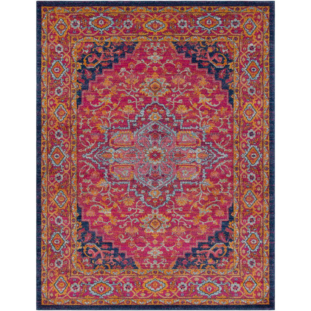 Surya Harput Bright Pink 7 Ft 10 In X 10 Ft 3 In