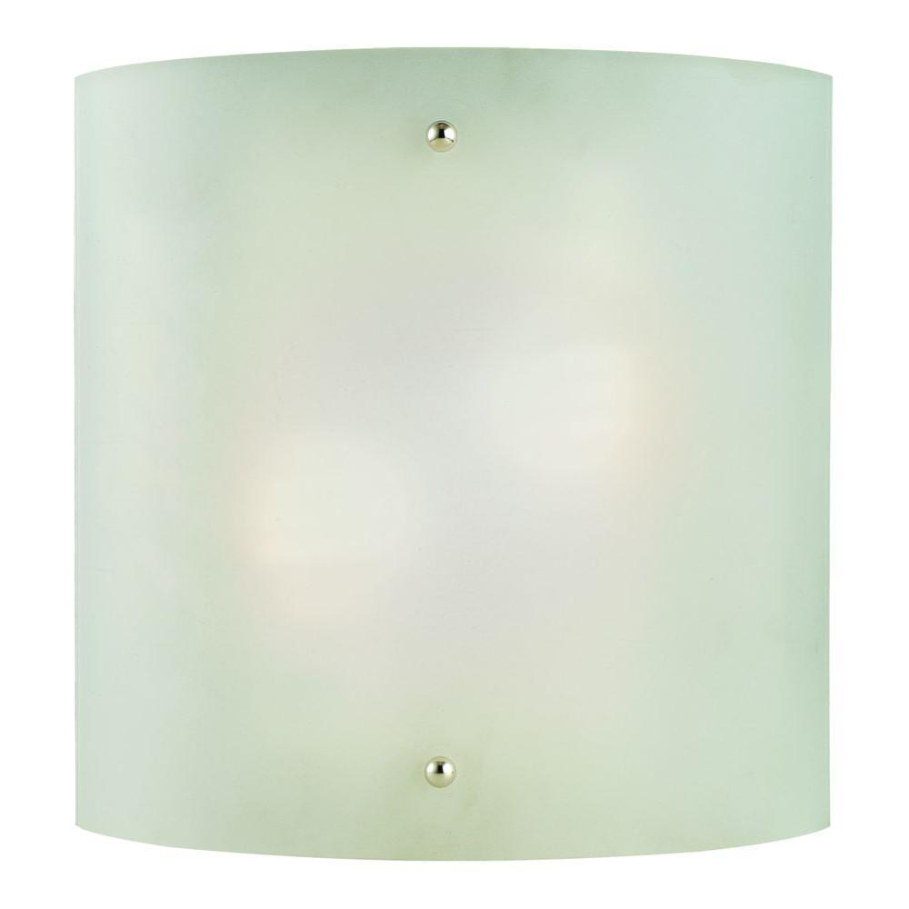 Design House Weston 2-Light Satin Nickel Sconce
