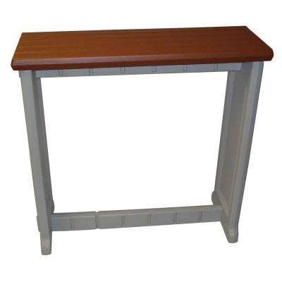 Redwood 36 in. Resin Patio Bar