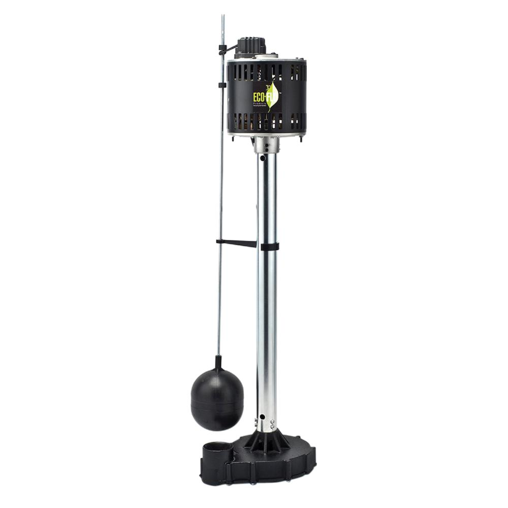 Ecoflo 1/2 HP Cast Iron Pedestal Sump Pump