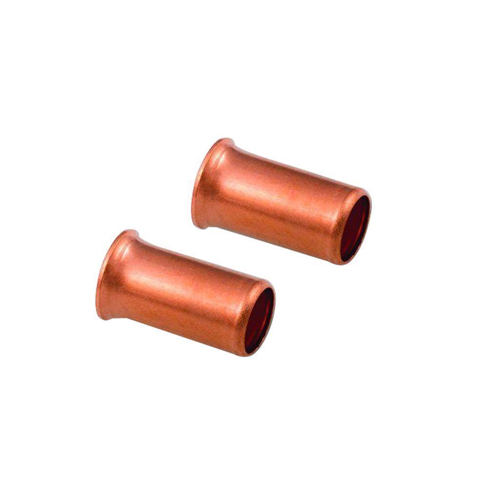 14-8 AWG, Copper Crimp Sleeves (50-Pack)