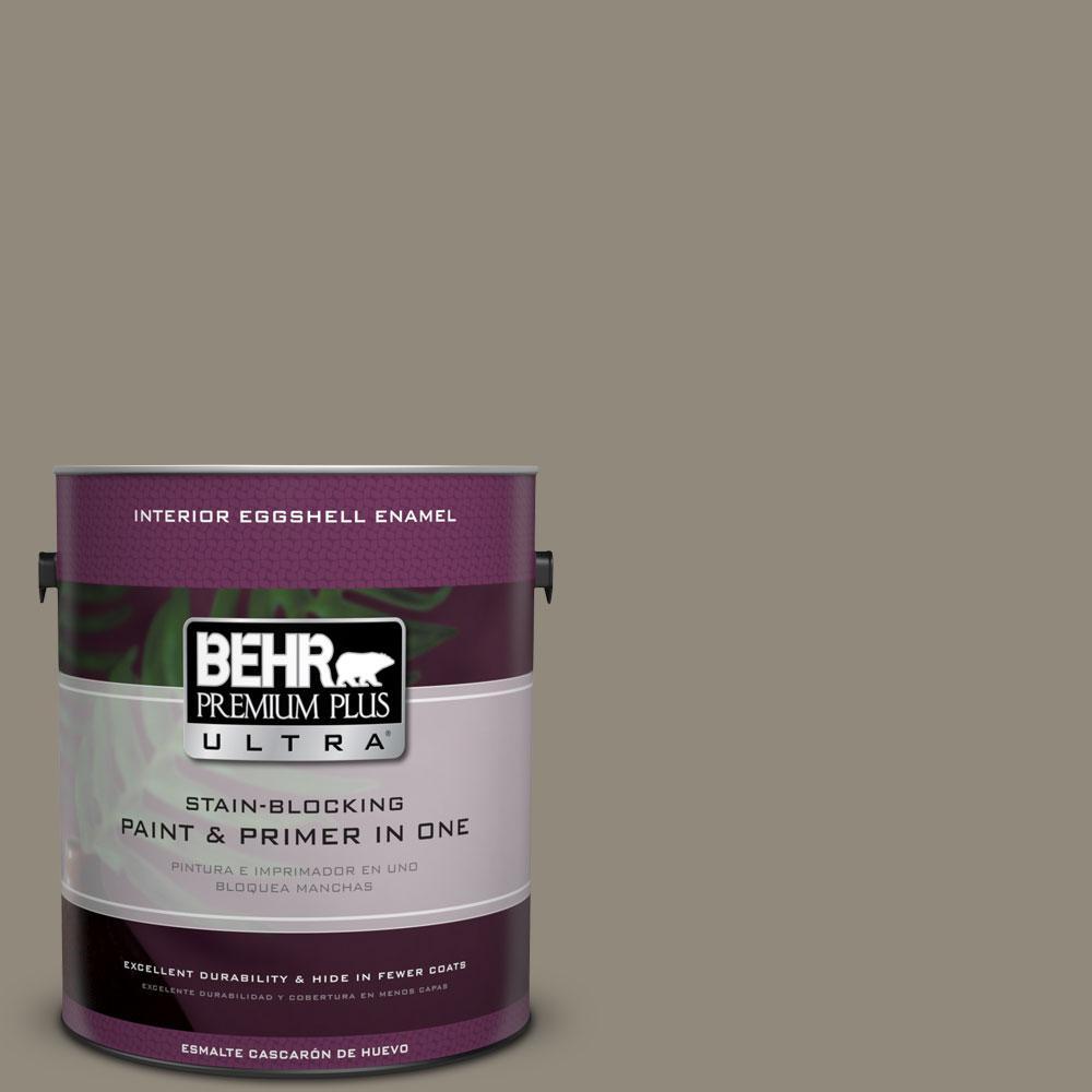 BEHR Premium Plus Ultra 1-gal. #790D-5 Squirrel Eggshell Enamel Interior Paint
