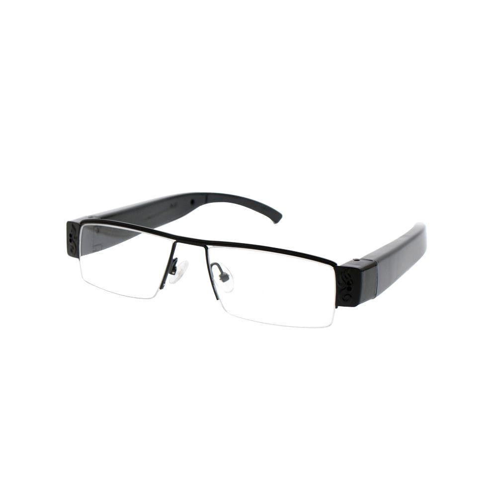 HD DVR Spy Glasses Camera - Clear Lens