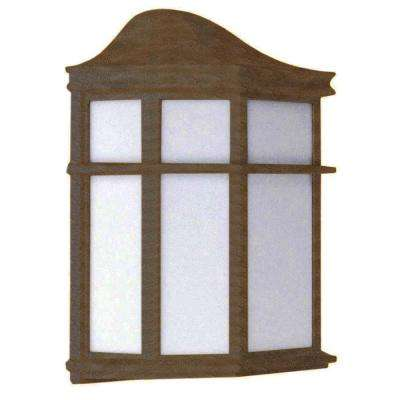 Rapalje 1-Light Oil-Rubbed Bronze Outdoor Wall Lantern