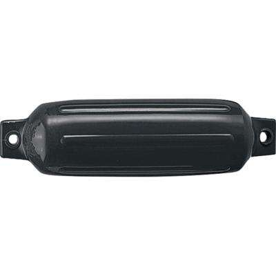 11 in. x 30 in. Twin Eye Fender, Black