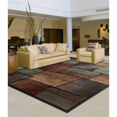 Expressions Multi 5 ft. x 7 ft. Area Rug