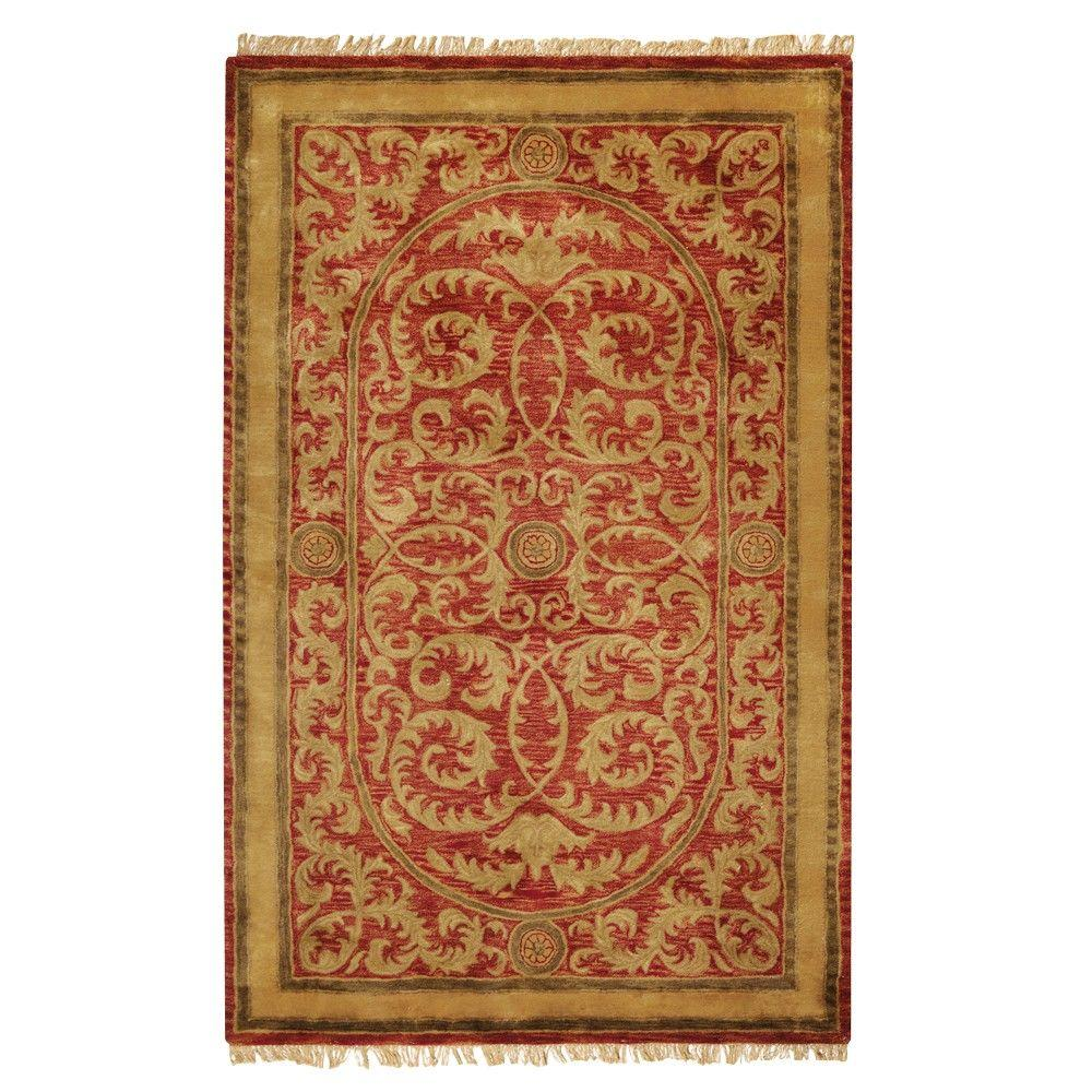 Home Decorators Collection Colette Red 12 ft. x 15 ft. Area Rug