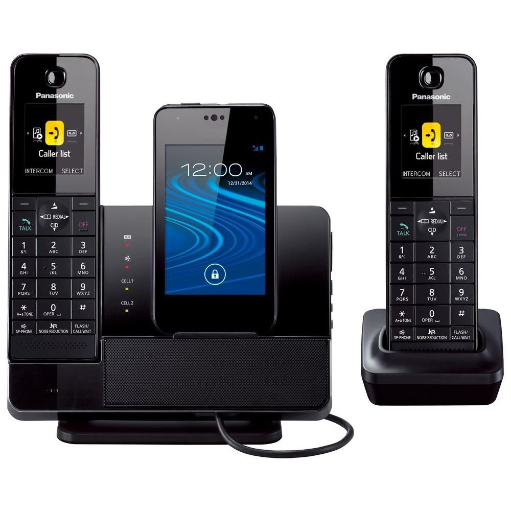 Panasonic Link2cell 2 Handset Digital Cordless Dock Style