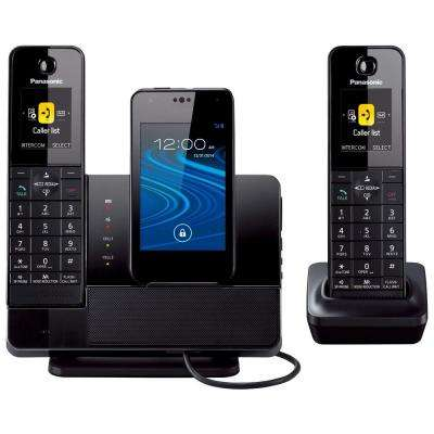 Link2Cell 2-Handset Digital Cordless Dock Style Bluetooth Cellular Convergence Solution