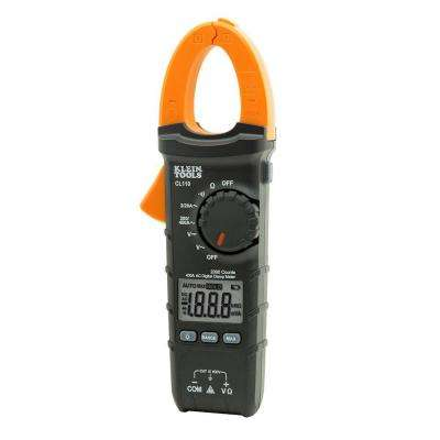400 Amp AC Auto-Ranging Digital Clamp Meter