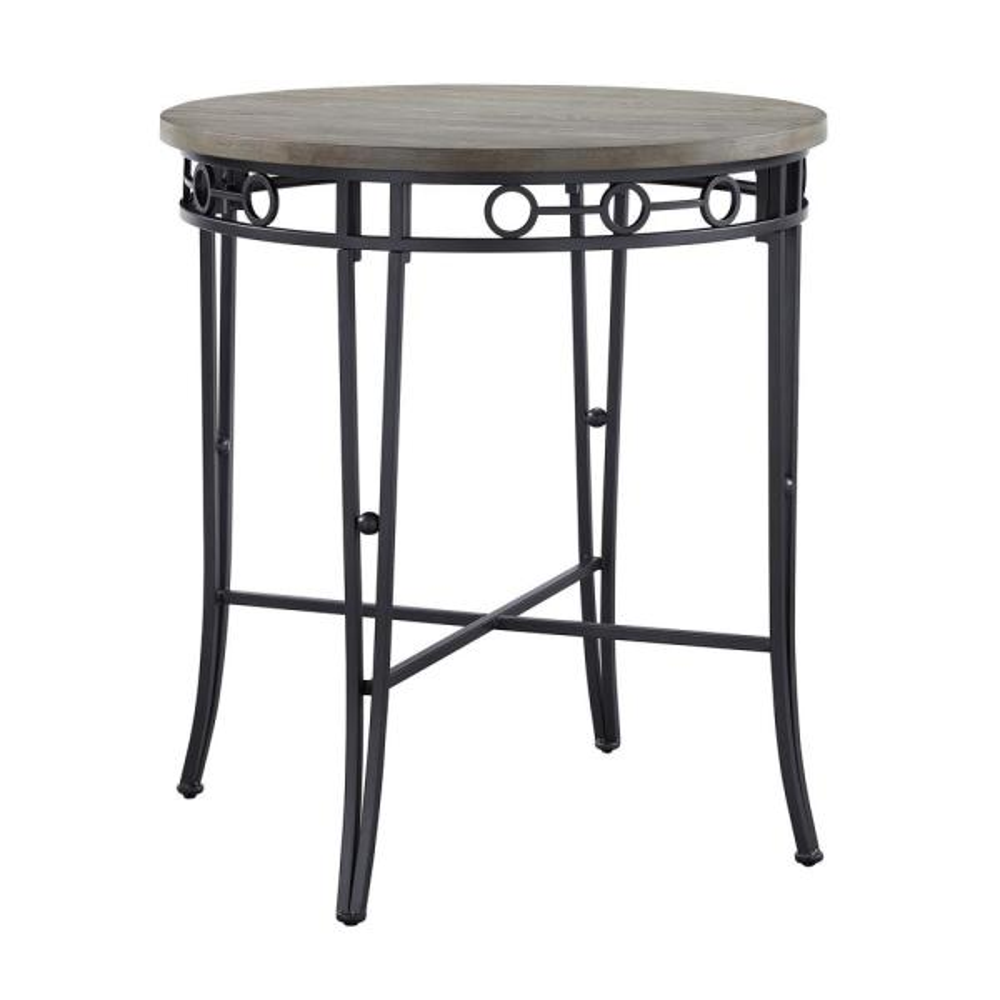 Black/Light Brown Cox Pub Table
