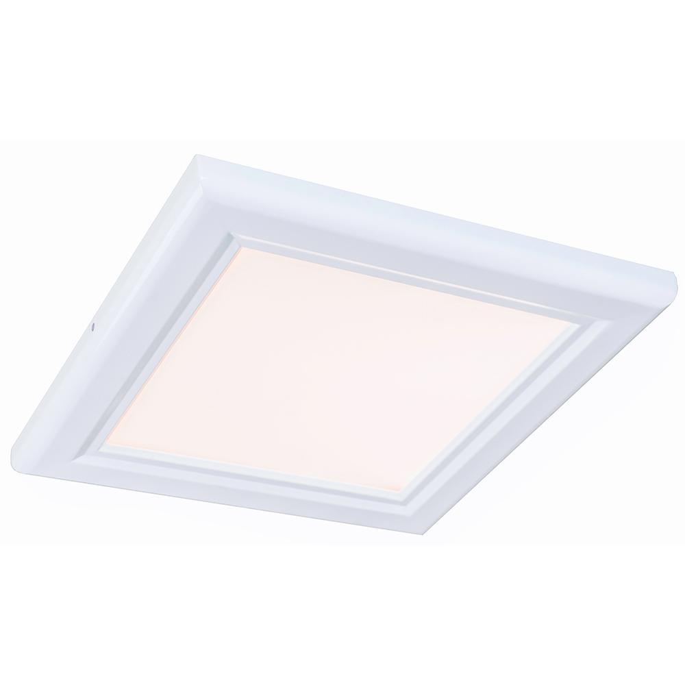 1 ft. x 1 ft. White Edge-Lit 15-Watt 2700K Integrated LED