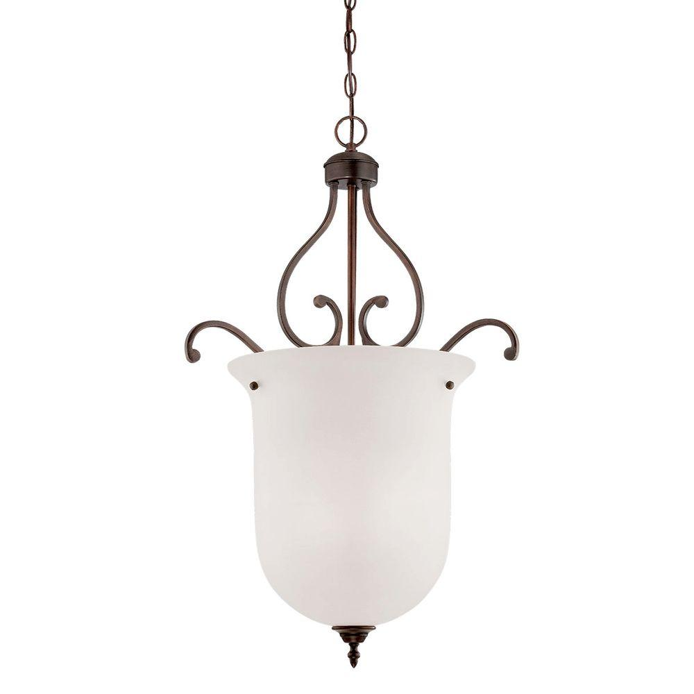 Light Industrial To Rent In Strawberry Lane Industrial: Millennium Lighting 3-Light Rubbed Bronze Pendant With
