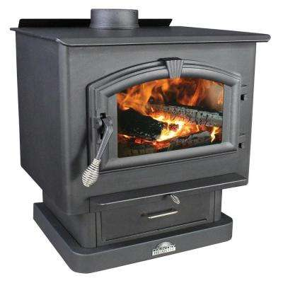 2,500 sq. ft. EPA Certified Wood-Burning Stove with Blower