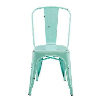 Mint Metal Dining Chair