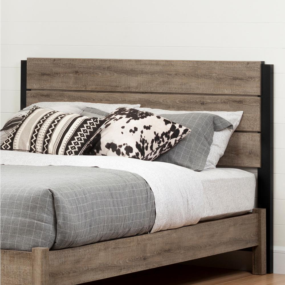New Bedroom Bed Volleyball Bedroom Decorating Ideas Rustic Bedroom Decor Diy Bedroom Blinds Ideas: South Shore Munich Weathered Oak And Matte Black Full